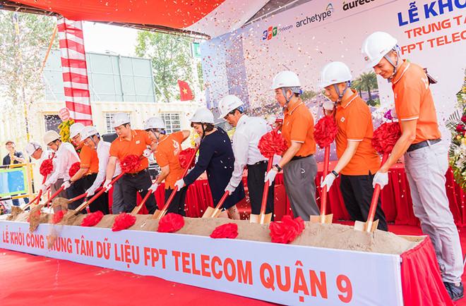 FPT Telecom khởi công trung tâm dữ liệu lớn nhất Việt Nam